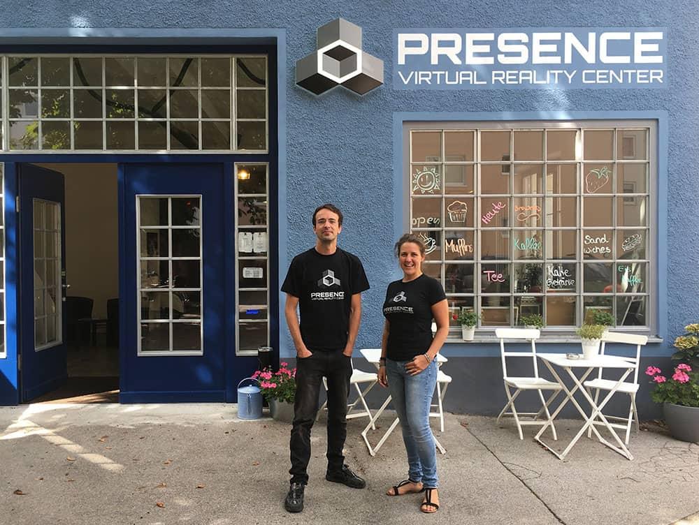 Presence Virtual Reality Center